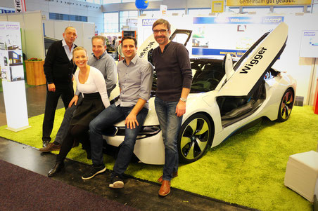 Auf der BAUEN & SANIEREN-EIGENHEIM Rostock 2016 mit Unterstützung von BMW Wigger und dem MAWO Team