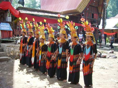 Tana Toraja bevolking op Sulawesi