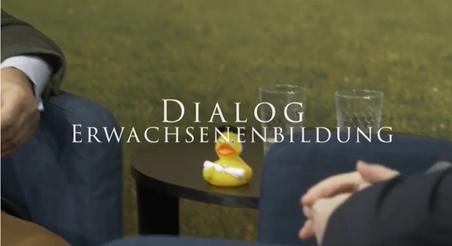 Screenshot, Dialog Erwachsenenbildung, Youtube