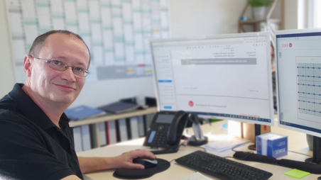Michael Denk, AV-Montage und Verwaltung