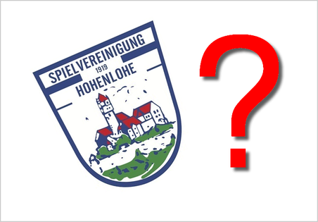 Die Spielvereinigung Hohenlohe am Scheideweg.