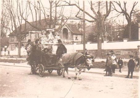 Aufnahme 1920 - Sammlung Inge Kaiser (Hutweide)