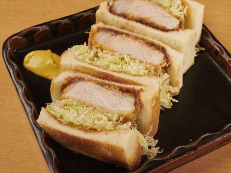 ponchi-ken|pork-cutlet sandwich