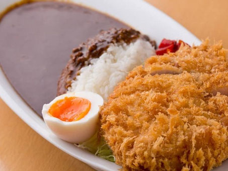 ponchi-ken|curry|pork cutlet
