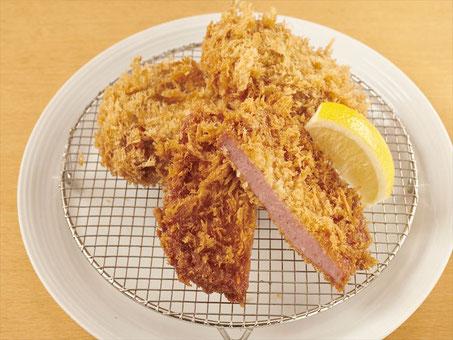 ponchi-ken|ham cutlet|croquette