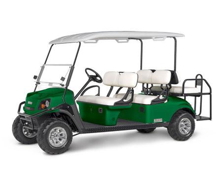 E-Z-GO EXPRESS S4, 4 Passenger Golf Car, Rear Seat