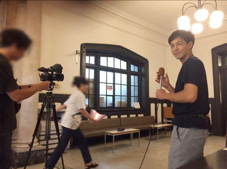 ジェイコムの取材 ジャムコン会場にて 代表取締役 宮澤 要