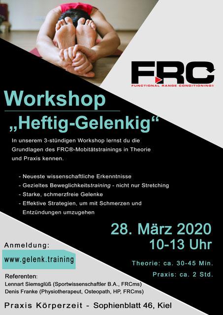 FRC Workshop Beweglichkeitstraining Kiel