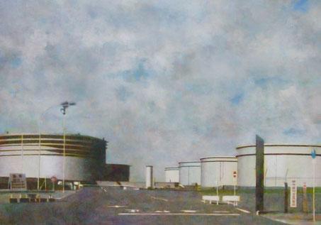 清原健彦 光のマッス116 キャンバスに油彩 2008年