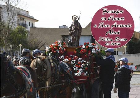 Fiestas de San Antonio en Xabia Javea Fira i Porrat