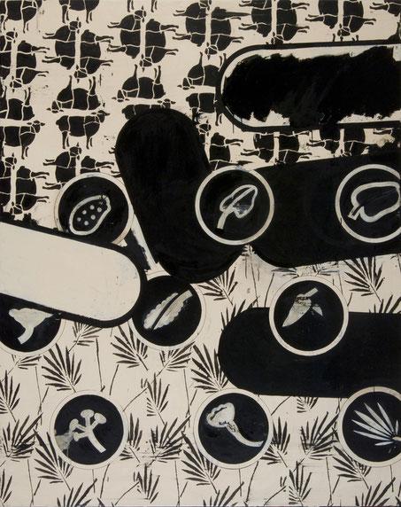 """""""Bioware"""",2008,Öl auf Leinen,200x160cm"""