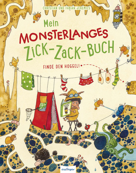 Mein monsterlanges Zick-Zack-Buch 2 02|2018 Esslinger