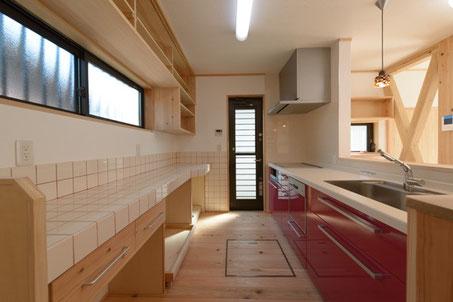 カウンタータイプ オープンキッチン