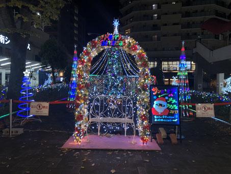 宝塚市南口のクリスマス