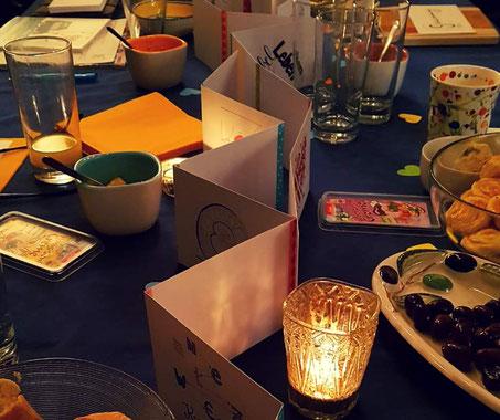 Tischgespräch bei Christine Kempkes Lebens- & Trauerbegleitung