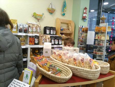 Fairtrade Produkte im Weltladen Geldern
