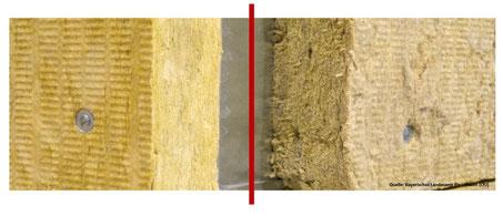 Ist Steinwolle Mineralwolle? Unterscheidung neue und alte Mineralwolle nach TRGS 521