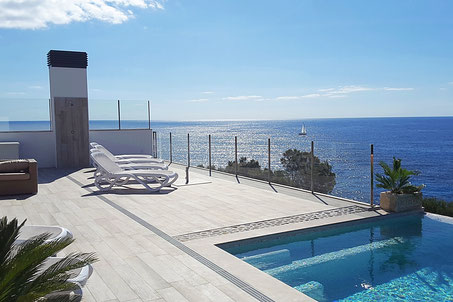 Villa Lifetime - Seaviews from the terrace