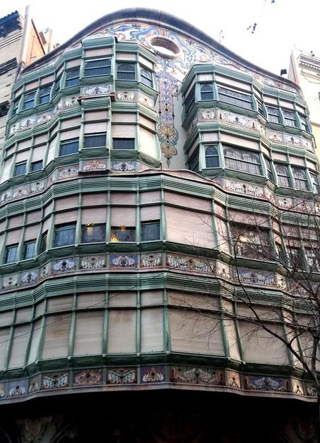 Дом Комалат в Барселоне