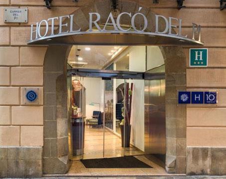 H10 Raco del Pi 0 отличные трехзвездочные отели в Готическом квартале Барселоны