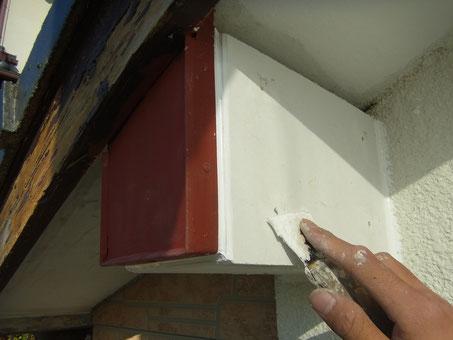 熊本県T様邸 木部重ね貼り修理 塗装