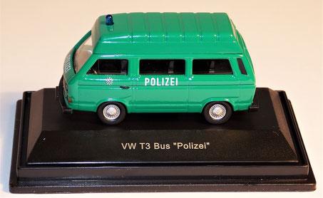VW T3 Bus Polizei, Schuco 1:87