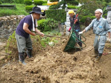 災害支援 丹波市市島町