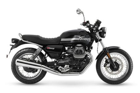 Moto Guzzi V7 Special silber rechte Seitenansicht