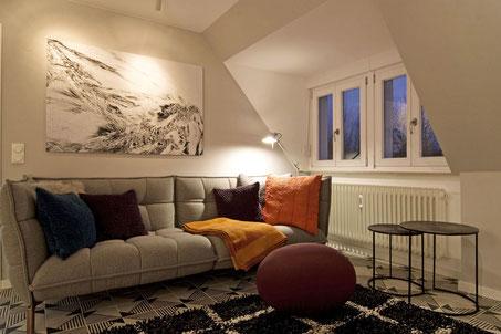 Heidelberg fully furnished apartment - living room