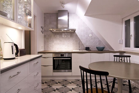 Heidelberg fully furnished apartment - kitchen