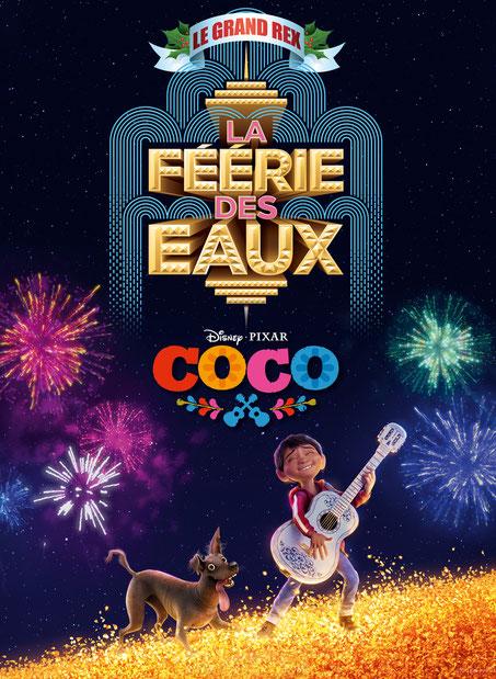 Grand Rex le nouveau film Disney Pixar Spectacles de noël