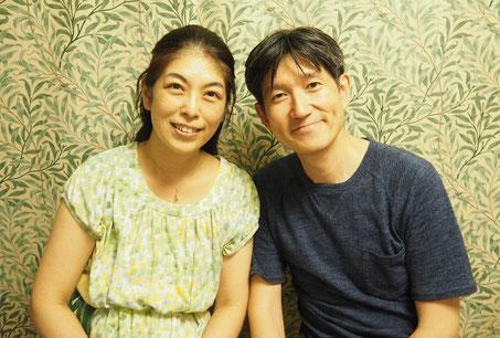 (左)大木華さん・(右)大木学さん