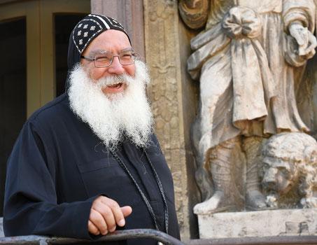 S.E. Bischof Anba Damian. Foto: Maria Hopp