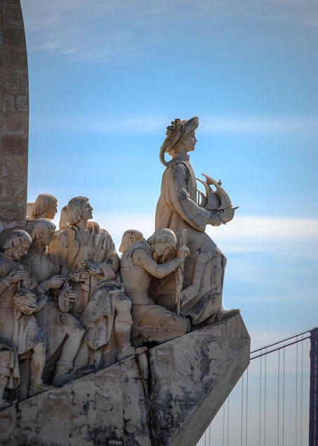 Das Entdeckerdenkmal mit Heinrich dem Seefahrer und weiteren 32 Persönlichkeiten der portugiesischen Geschichte
