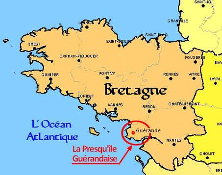 La Presqu'île Guérandaise, un pays bien particulier en Bretagne