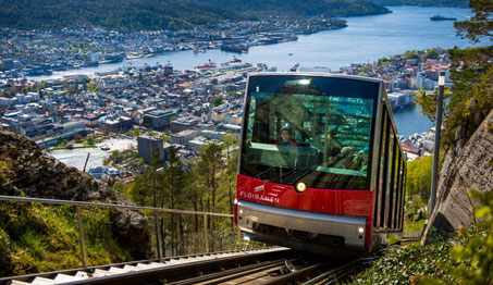 Best things to do in Bergen - Funicular Copyright VisitNorway