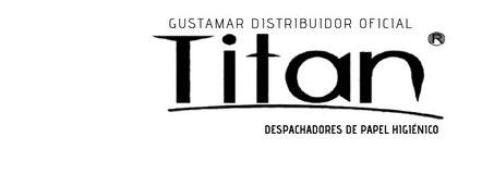 PROVEEDORES DEL DESPACHADOR DE PAPEL HIGIÉNICO TITAN DOBLE 8012W BLANCO