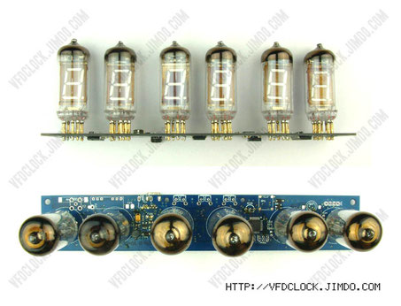 6-tube IV-11 vfd clock