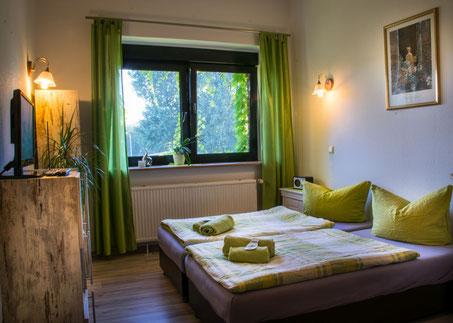 Zimmer in der Pension Abtnaundorfer Hof