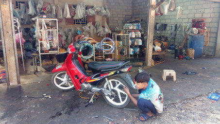 Le garage du coin