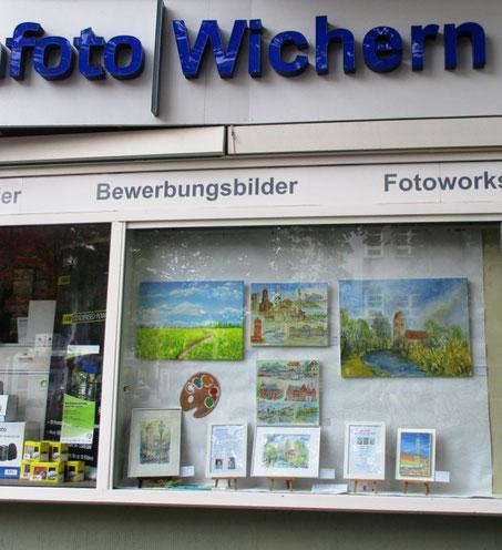 Unser Kunstfenster bei Foto Wichern