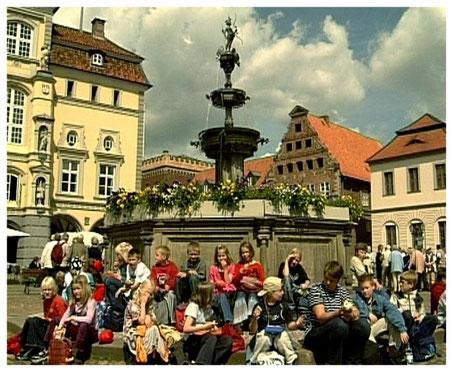 Hansestadt Lüneburg Luna Brunnen