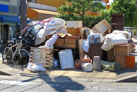 水戸市粗大ごみの出し方と料金