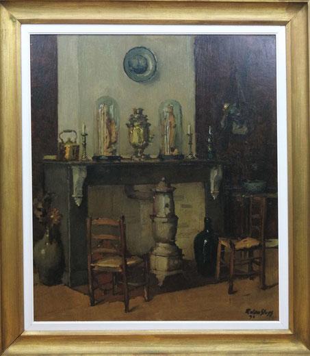 te_koop_aangeboden_een_schilderij_van_de_belgische_kunstschilder_remy_van_sluys_1907-1994