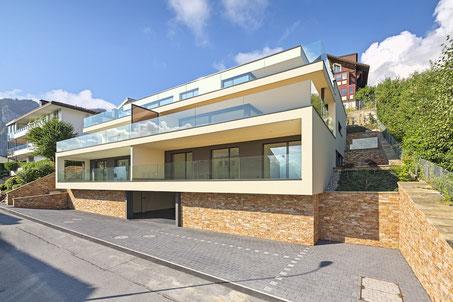 Starkl Vieli Architekten Mehrfamilienhaus Hergiswil