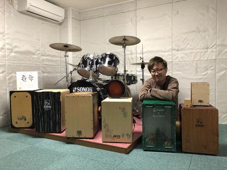カホン-レッスン-音楽教室