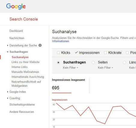 Google Keywords finden Suchbegriffe