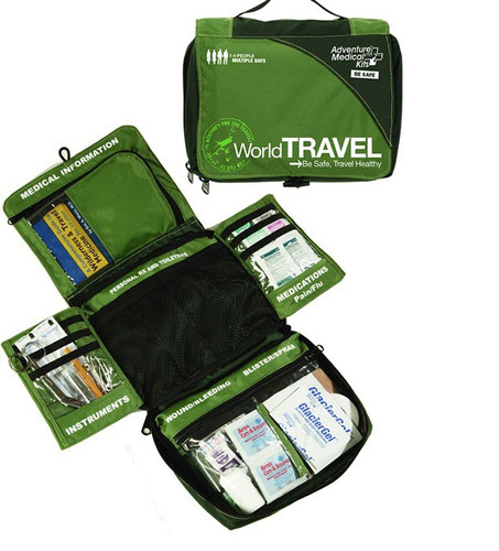 Survival Metrics World Travel Medical kit