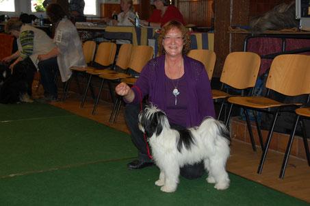 ...hier mit ihrer Besitzerin Ulrike Rosemann.