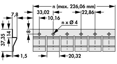 THFM20  1連 - 10連  Fischer Elektronik トランジスタ固定用スプリング(TO247, TO264用)